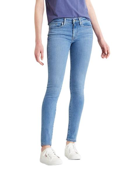 Pantalon Levis 711 Skinny Jeans Para Mujer
