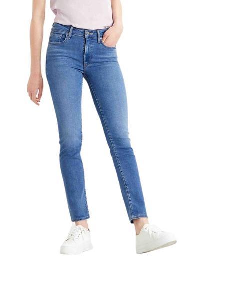 Pantalon Levis 712 Slim Fit Para Mujer Rio Love