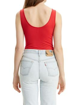 Body Levis Florence Bodysuit Brilliant Red de mujer