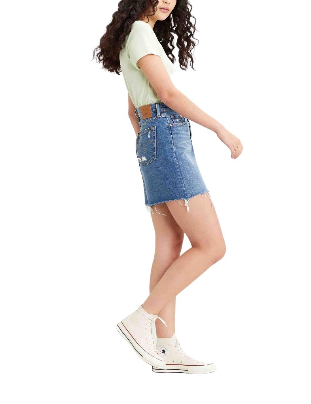 Falda Levis Decon Iconic Skirt Stuck In The Middle