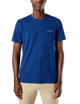 Camiseta Dockers Logo Tee manga corta Estate Blue
