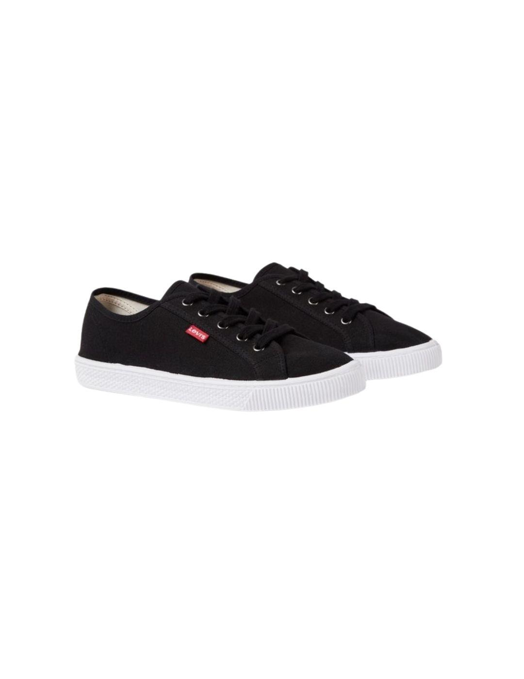 Zapatillas Levis Malibu Beach Sneakers Regular Black