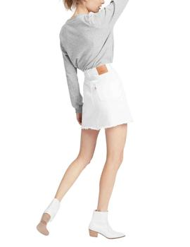 Falda Levis Decon Iconic Skirt Pearly White