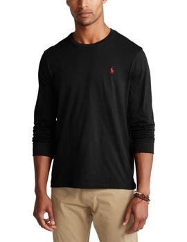 Camiseta Polo Ralph Lauren custom slim fit manga larga