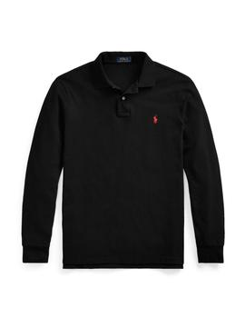 Polo Polo Ralph Lauren Custom Slim Fit manga larga