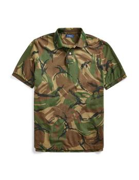 Polo de Polo Ralph Lauren Custom Slim Fit estampado camuflaj